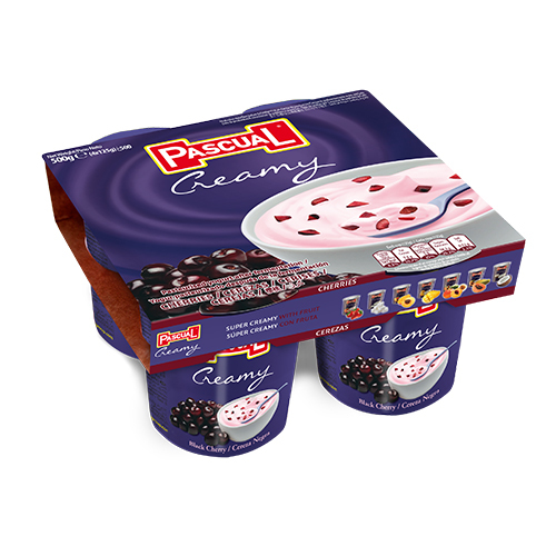 黑櫻桃果粒優格<br/>CREAMY BLACK CHERRY YOGURT <br/>