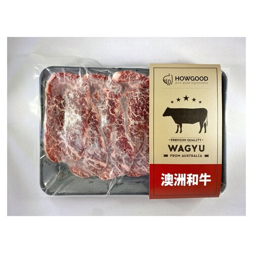 澳洲和牛後腰翼板燒肉片MB8-9<br/>WAGYU BEEF FLAP MEAT BBQ SLICE MB8-9<br/>  |肉品|牛肉