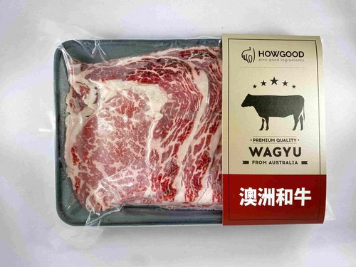 澳洲和牛肋眼火鍋片MB8-9<br/>WAGYU BEEF CUBE ROLL HOT POT SLICE MB8-9<br/>  |肉品|牛肉