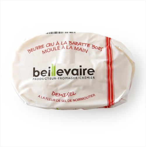 海鹽風味手工奶油<br/>BEILLEVAIRE BUTTER PASTEURISED MILK SALTED <br/>產品圖