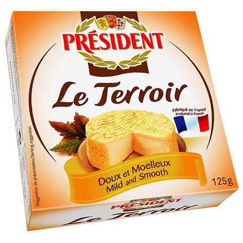 諾曼地風味乾酪<br/>LE TERROIR CHEESE IN TIN <br/>示意圖