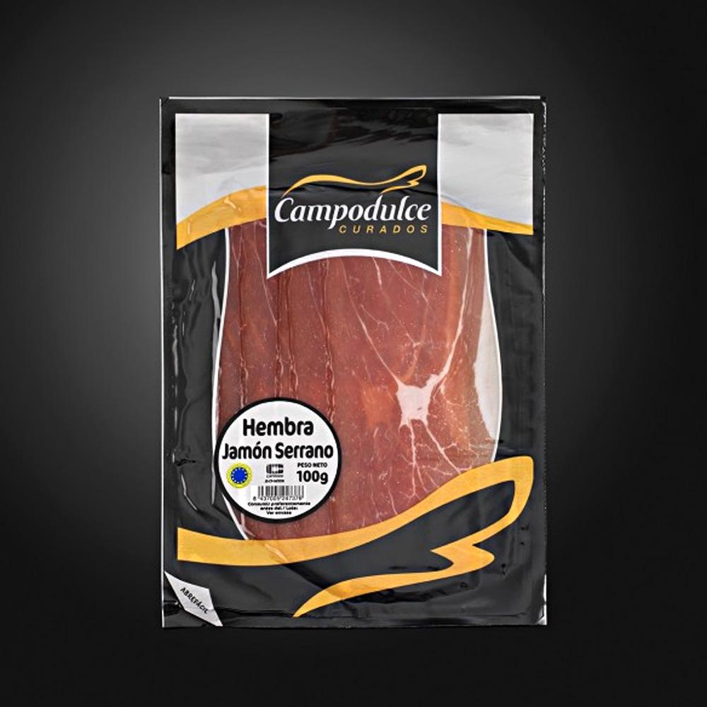 珍藏級山火腿切片100克SLICED SERRANO RESERVA HAM - 風乾火腿- 肉品- 聯馥食品股份有限公司